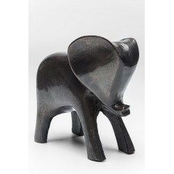 Figura de decoración Elefant Black
