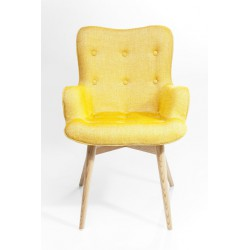 Silla con Reposabrazos angels Wings Mustard