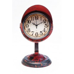Reloj De Mesa Scooter-Light Rojo