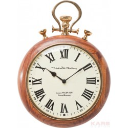 Reloj de pared Pocket Wood