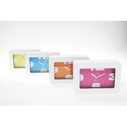 Reloj de mesa pop colores