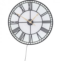 Reloj de pared Factory LED ø 80 cm